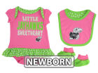 Kansas Jayhawks Outerstuff NCAA Newborn Girls Pink Little Sweet Set Outfits
