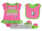 Louisville Cardinals Outerstuff NCAA Newborn Girls Pink Little Sweet Set Outfits