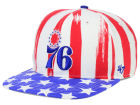 Philadelphia 76ers '47 NBA HWC '47 Log Cabin Snapback Cap Adjustable Hats