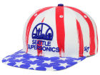 Seattle SuperSonics '47 NBA HWC '47 Log Cabin Snapback Cap Adjustable Hats