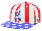 Los Angeles Angels of Anaheim '47 MLB '47 Log Cabin Snapback Cap Adjustable Hats