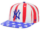 New York Yankees '47 MLB '47 Log Cabin Snapback Cap Adjustable Hats