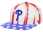 Philadelphia Phillies '47 MLB '47 Log Cabin Snapback Cap Adjustable Hats
