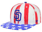 San Diego Padres '47 MLB '47 Log Cabin Snapback Cap Adjustable Hats