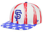 San Francisco Giants '47 MLB '47 Log Cabin Snapback Cap Adjustable Hats
