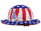 Los Angeles Angels of Anaheim '47 MLB '47 Log Cabin Bucket Hats
