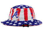 Atlanta Braves '47 MLB '47 Log Cabin Bucket Hats