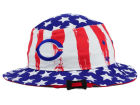 Cincinnati Reds '47 MLB '47 Log Cabin Bucket Hats