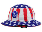 Milwaukee Brewers '47 MLB '47 Log Cabin Bucket Hats