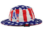 Oakland Athletics '47 MLB '47 Log Cabin Bucket Hats
