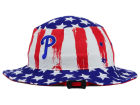 Philadelphia Phillies '47 MLB '47 Log Cabin Bucket Hats