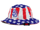 San Diego Padres '47 MLB '47 Log Cabin Bucket Hats