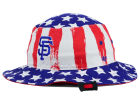 San Francisco Giants '47 MLB '47 Log Cabin Bucket Hats