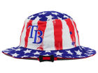 Tampa Bay Rays '47 MLB '47 Log Cabin Bucket Hats