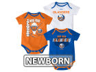New York Islanders Reebok NHL Newborn 3 Part Spread Creeper Set Infant Apparel