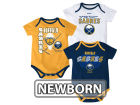 Buffalo Sabres Reebok NHL Newborn 3 Part Spread Creeper Set Infant Apparel