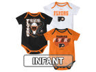 Philadelphia Flyers Reebok NHL Infant 3 Pt Spread Creeper Set Outfits