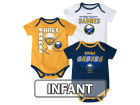 Buffalo Sabres Reebok NHL Infant 3 Pt Spread Creeper Set Outfits
