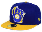 Milwaukee Brewers New Era MLB Big State 59FIFTY Cap Fitted Hats