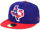 Texas Rangers New Era MLB Big State 59FIFTY Cap Fitted Hats