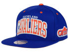 Cleveland Cavaliers Mitchell and Ness NBA Reflective Arch Snapback Cap Adjustable Hats