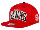 Atlanta Hawks Mitchell and Ness NBA Reflective Arch Snapback Cap Adjustable Hats
