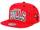 Chicago Bulls Mitchell and Ness NBA Reflective Arch Snapback Cap Adjustable Hats