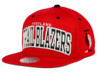 Portland Trail Blazers Mitchell and Ness NBA Reflective Arch Snapback Cap Adjustable Hats