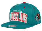 Vancouver Grizzlies Mitchell and Ness NBA Reflective Arch Snapback Cap Adjustable Hats
