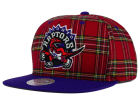 Toronto Raptors Mitchell and Ness NBA Plaid It Snapback Cap Adjustable Hats