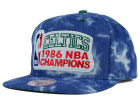 Boston Celtics Mitchell and Ness NBA Back 2 Back Acid Wash Snapback Cap Adjustable Hats