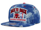 Chicago Bulls Mitchell and Ness NBA Back 2 Back Acid Wash Snapback Cap Adjustable Hats