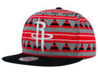 Houston Rockets Mitchell and Ness NBA Mixtec Snapback Cap Adjustable Hats