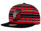 Portland Trail Blazers Mitchell and Ness NBA Mixtec Snapback Cap Adjustable Hats