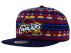 Cleveland Cavaliers Mitchell and Ness NBA Mixtec Snapback Cap Adjustable Hats