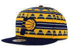 Indiana Pacers Mitchell and Ness NBA Mixtec Snapback Cap Adjustable Hats
