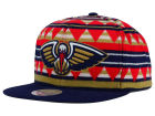 New Orleans Pelicans Mitchell and Ness NBA Mixtec Snapback Cap Adjustable Hats