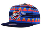 Oklahoma City Thunder Mitchell and Ness NBA Mixtec Snapback Cap Adjustable Hats