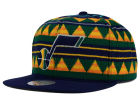 Utah Jazz Mitchell and Ness NBA Mixtec Snapback Cap Adjustable Hats