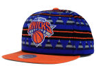 New York Knicks Mitchell and Ness NBA Mixtec Snapback Cap Adjustable Hats