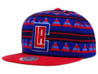 Los Angeles Clippers Mitchell and Ness NBA Mixtec Snapback Cap Adjustable Hats
