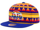 Denver Nuggets Mitchell and Ness NBA Mixtec Snapback Cap Adjustable Hats