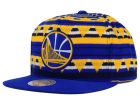 Golden State Warriors Mitchell and Ness NBA Mixtec Snapback Cap Adjustable Hats