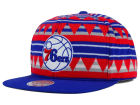 Philadelphia 76ers Mitchell and Ness NBA Mixtec Snapback Cap Adjustable Hats