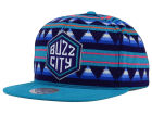 Charlotte Hornets Mitchell and Ness NBA Mixtec Snapback Cap Adjustable Hats