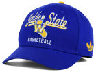 Golden State Warriors adidas NBA 2015 Chase Script Structured Flex Cap Stretch Fitted Hats