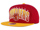 Cleveland Cavaliers Mitchell and Ness NBA Double Bonus Snapback Cap Adjustable Hats