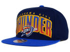 Oklahoma City Thunder Mitchell and Ness NBA Double Bonus Snapback Cap Adjustable Hats