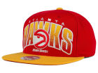 Atlanta Hawks Mitchell and Ness NBA Double Bonus Snapback Cap Adjustable Hats
