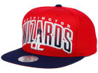 Washington Wizards Mitchell and Ness NBA Double Bonus Snapback Cap Adjustable Hats